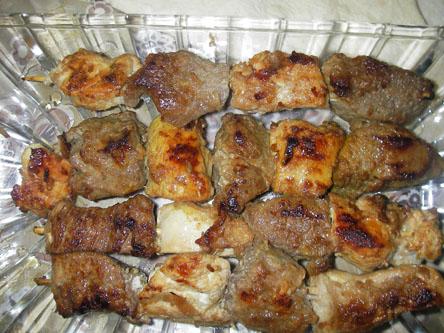 طعم خوش آشپزی - انواع غذا با گوشت